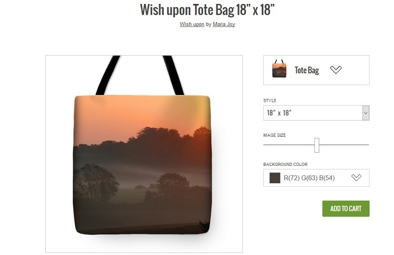 'Wish Upon' Tote Bag by maria joy