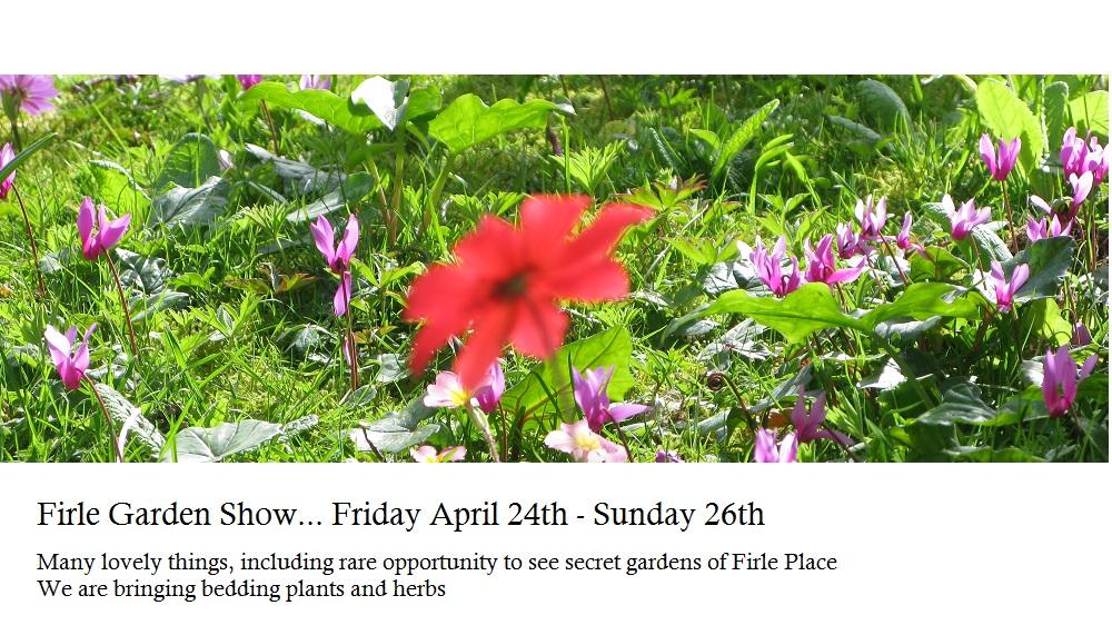 Firle Place Garden Show - April 24-26th 2015