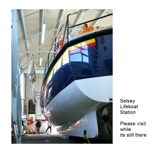 Selsey Lifeboat Station will soon be gone - please visit while its still there