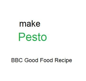 How to make Pesto - BBC Good Food Recipe