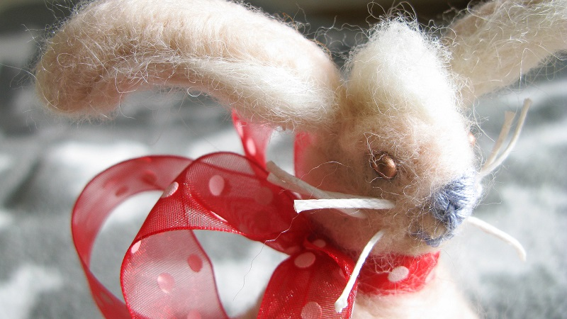 Easter Bunny - available from smallwoollyelephant (our store on etsy)