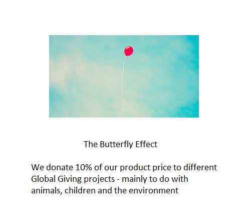 Butterfly Effect thru Global Giving