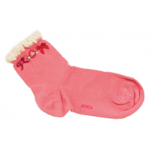 Avoca Sisi Socks in Pink from Honey Beeswax