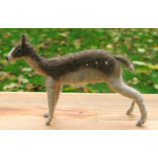 Fallow Deer - Handmade from Shetland and Alpaca Wool - Honey Beeswax