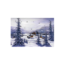 Jan Bergerlind's Advent Calendar Card - Sleigh Ride - from Honey Beeswax