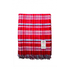 Scottie - Red - Lambswool Throw