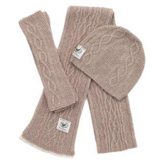 Barn Owl - Cashmere and Wool Hibernate Scarves