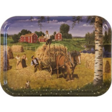 Jan Bergerlind Jul Trays - Hay Making - Honey Beeswax
