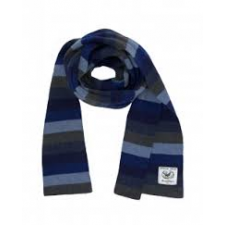 Avoca Ridge Scarf in Denim available from Honey Beeswax