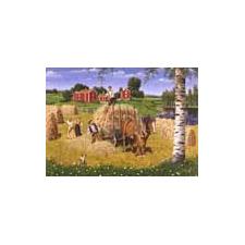 Jan Bergerlind Postcards - Hay Making - Honey Beeswax