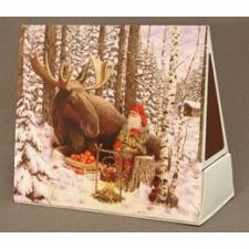 Jan Bergerlind Matchboxes - Moose - Honey Beeswax