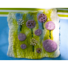Felted Landscape - Alliums