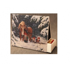 Jan Bergerlind - Matchboxes - Tomte and the Big Horse - Honey Beeswax
