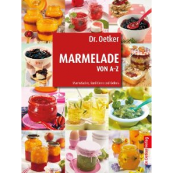 Dr Oetker Marmelade Von A-Z - German Cookery Books from Honey Beeswax
