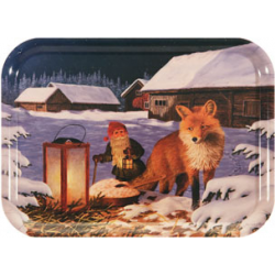 Jan Bergerlind Jul Tray - Fox - Honey Beeswax
