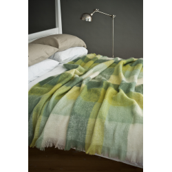 Irish Green - Mohair Throws