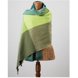 Gracie Avoca Stole in Green