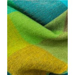 Avoca Merino Wool Green Fields Scarf