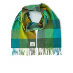 Avoca Green Fields Scarf available from Honey Beeswax