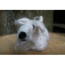 Handmade Sealyham Terrier - made by Honey Beeswax